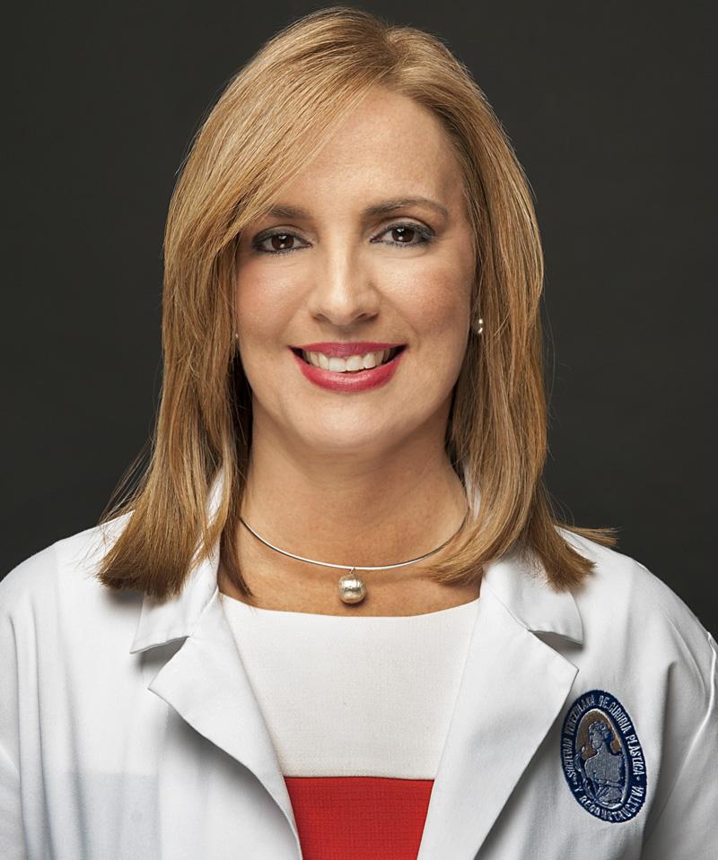 Dra. Linda Rincon, presidente de la SVCPREM
