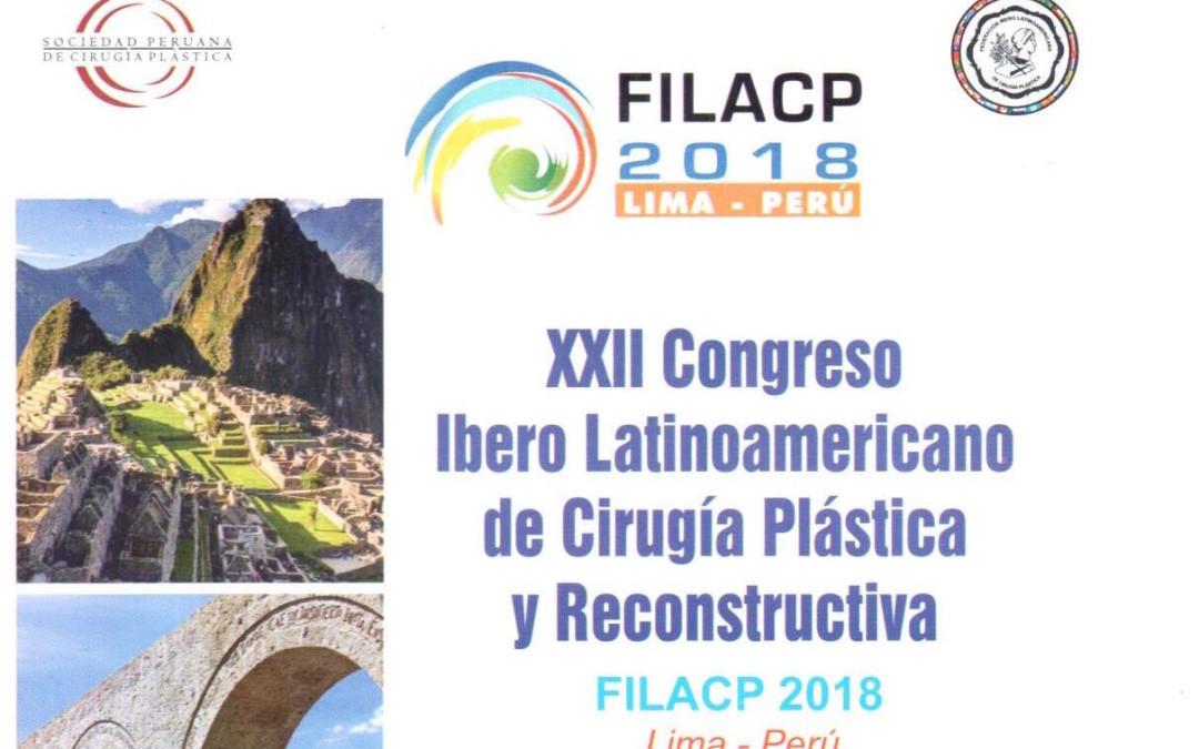 Invitación a FILACP 2018, Lima – Perú. 23 al 26 de mayo.