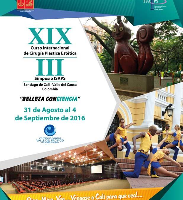 XIX Curso Internacional de Cirugía Plástica Estética: III Simposio ISAPS.
