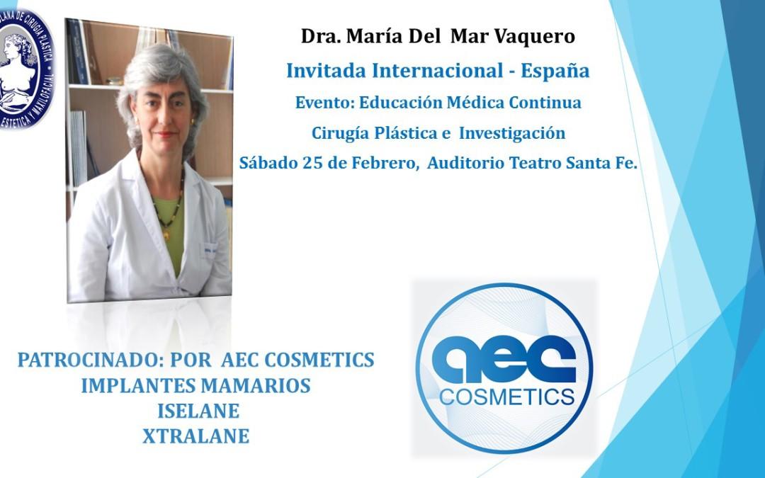 "Invitación al evento ""Cirugía Plástica e Investigación"", 25 de febrero, 8 am. a 4 pm."