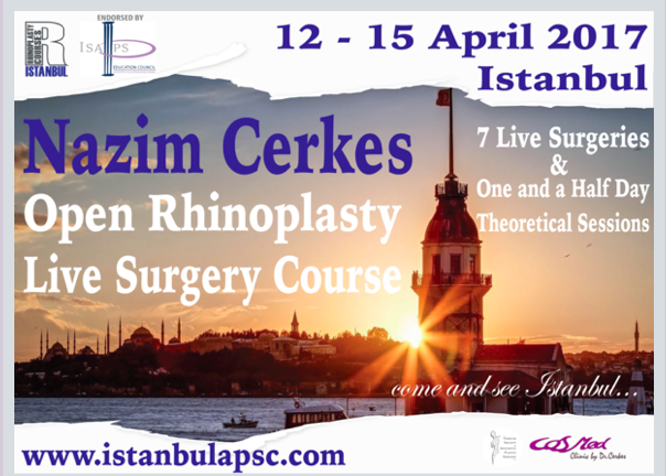 """Open Rhinoplasty Live Surgery Course"" , 12-15 de abril de 2017."