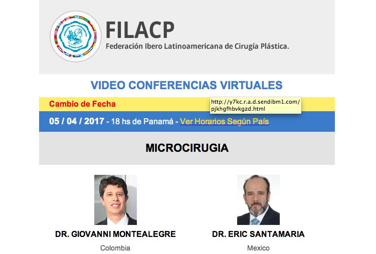 ESTA NOCHE: Ciclo de Videoconferencias FILACP: Microcirugía, 5 de abril, 7:00 pm. (Venezuela)