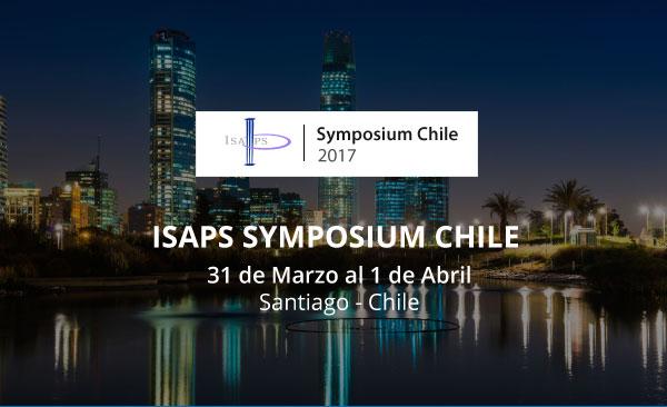 Próximamente Simposio ISAPS Chile 2017, 31 de marzo al 01 de abril.