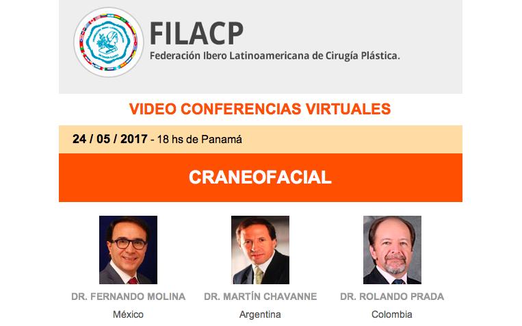 Ciclo de videoconferencias de la FILACP: CRANEOFACIAL, 24 de mayo, 7:00 pm (Venezuela).
