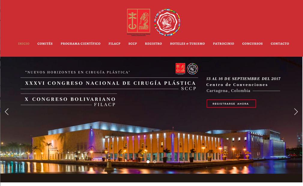 X Congreso Bolivariano de la Filacp y XXXVI Congreso Nacional de Cirugía Plástica de la Sociedad Colombiana de Cirugía Plástica Estética y Reconstructiva