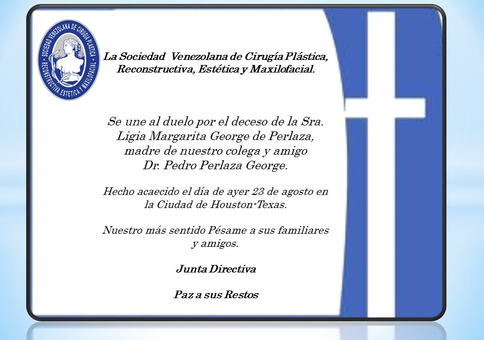 Obituario Sra. Ligia Margarita George de Perlaza