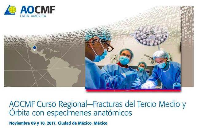 Curso Regional-Fracturas del Tercio Medio y Orbita con especímenes anatómicos