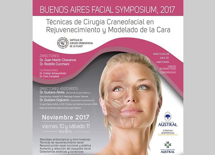 Aplicación de Técnicas de Cirugía Craneofacial en Rejuvenecimiento y Modelado de la Cara. Buenos Aires. 10-11 de Noviembre.