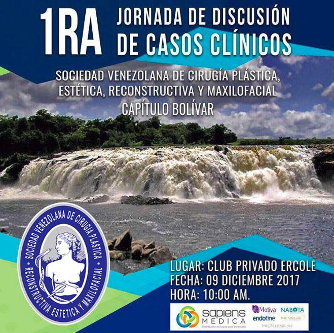 Primeras Jornadas de Discusión de Casos Clínicos – Capítulo Bolívar