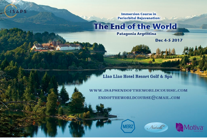 Immersion Course in Periorbital Rejuvenation and Beyond – December 4-5, Patagonia – Argentina