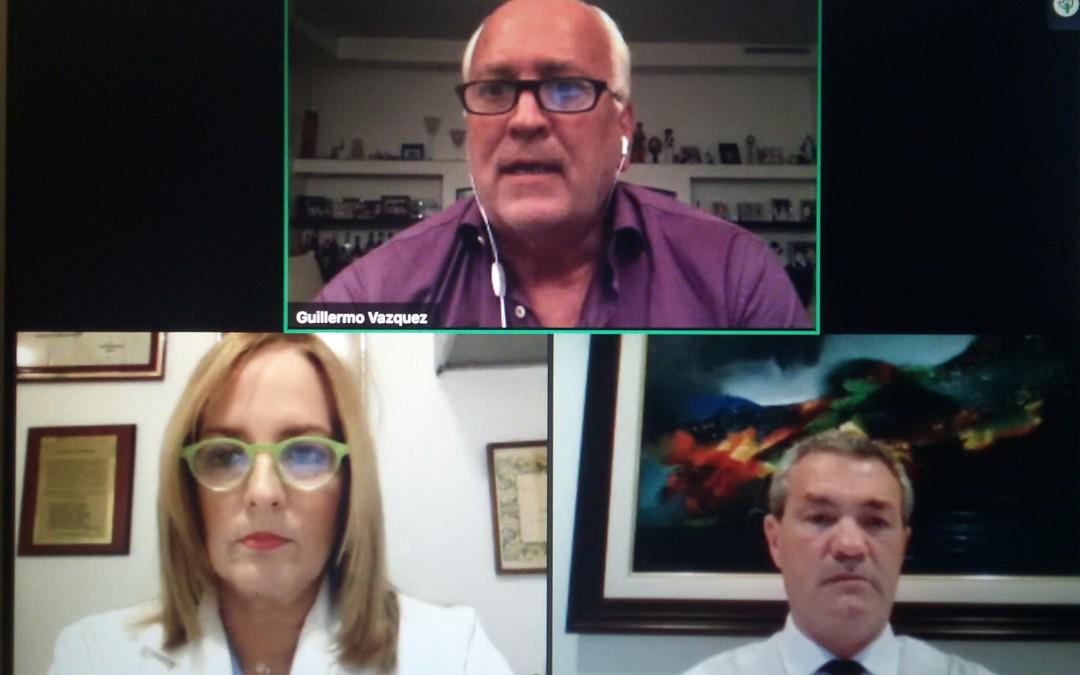 """Concluyó exitosamente la videoconferencia de la FILACP: """"Manejo del pubis en Cirugía Postbariátrica"""", con la Dra. Linda Rincón R."""